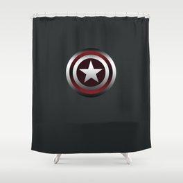 star tee shirt Shower Curtain