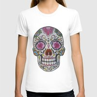 mexican T-shirts featuring Mexican Skull by DΔZΞD.