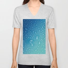 Water drops Unisex V-Neck