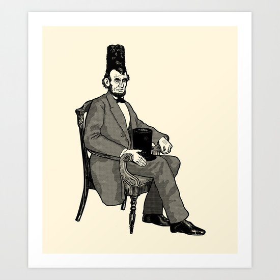 Hat Head Art Print