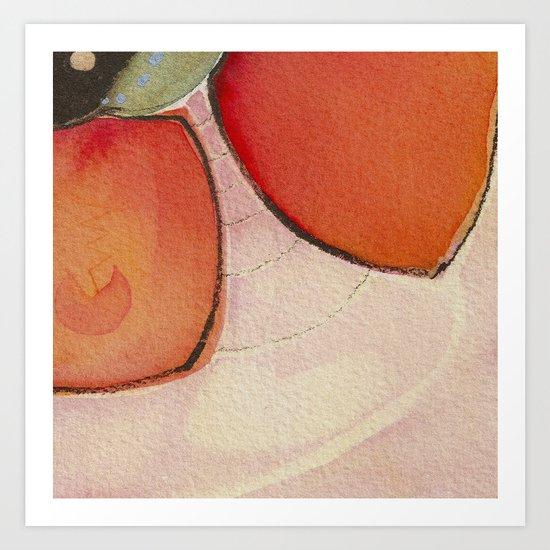 Tapas Abstract 1 Art Print