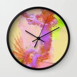 sitting Manikin Wall Clock