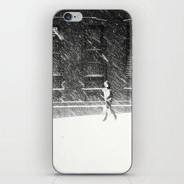 Snow Surfer iPhone Skin