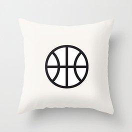 Basketball - Balls Serie Throw Pillow