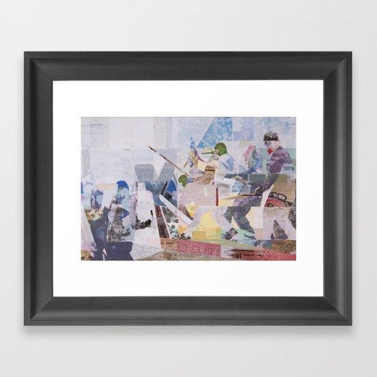 Precipice Framed Art Print