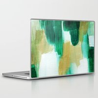 emerald Laptop & iPad Skins featuring Emerald by Patricia Vargas