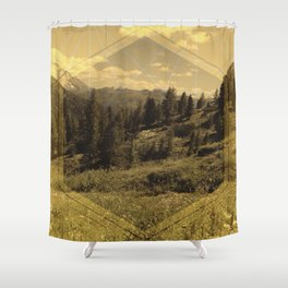 Intervention 15 Shower Curtain