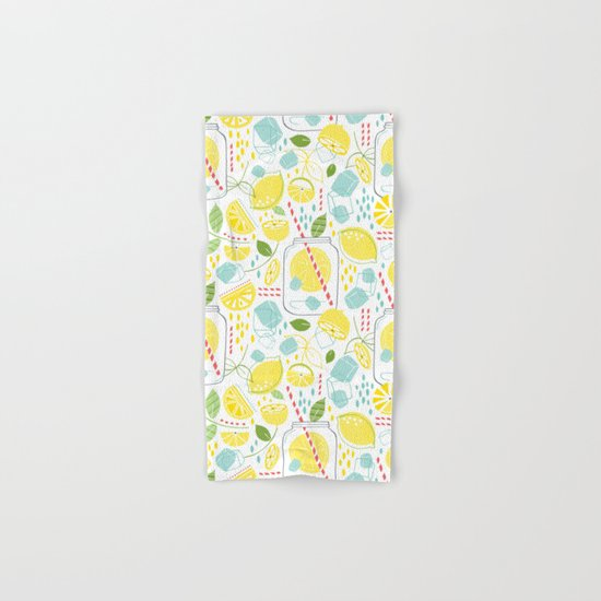 Summer Sippin' Hand & Bath Towel