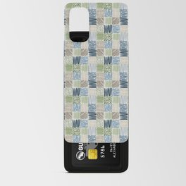 Jungle Set | hand illustrated quilt pattern Android Card Case