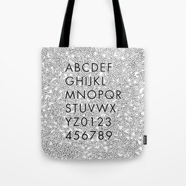 Futura Jumble Tote Bag