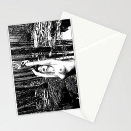 asc 385 - La fille des marais (Beautiful and poisonous) Stationery Cards