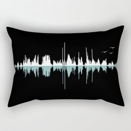 Music City ( Black version ) Rectangular Pillow