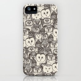 just owls natural iPhone Case