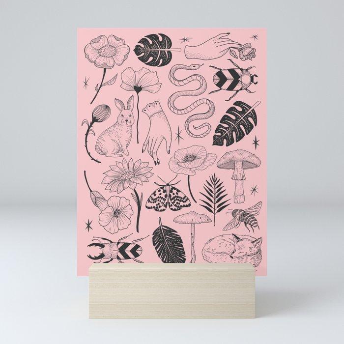 Nature Mini Art Print by Society6