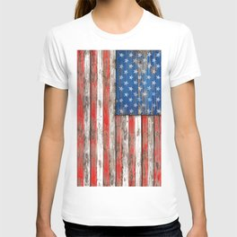 USA Vintage Wood T-shirt