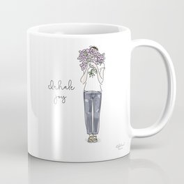 Inhale joy Coffee Mug