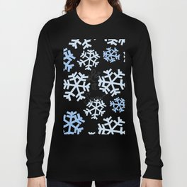 Let it Snow Snowflakes Long Sleeve T-shirt