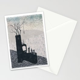 big city life (part 2 of 3) Stationery Cards