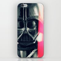 vader iPhone & iPod Skins featuring Vader by Fanboy30