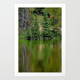Lake Irene 2018 Study 7 Art Print