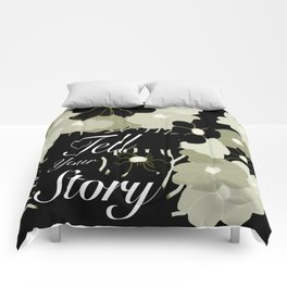 Tell Your Story Comforters