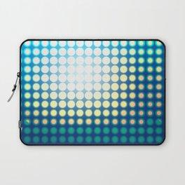 Blue Lights by Friztin Laptop Sleeve