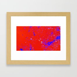Inner Map Framed Art Print