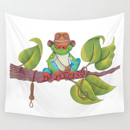 Indiana Toad portrayed by Harrison Frog Wall Tapestry
