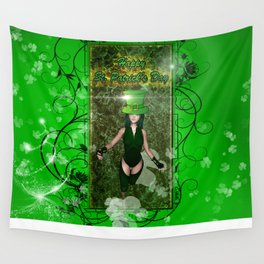 Happy St. Patrick's day  Wall Tapestry