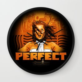 Perfect - The Supreme Being Wall Clock
