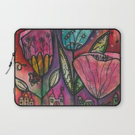 They live under flowers Laptop Sleeve