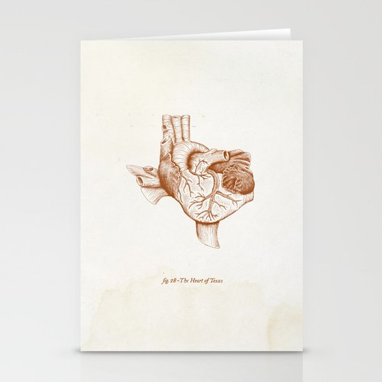 The Heart of Texas (UT) Stationery Cards
