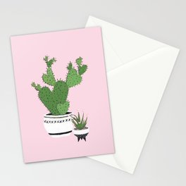 Cactus Love (in pink) Stationery Cards