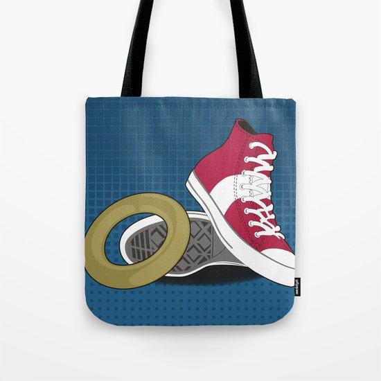 Sonic Converse - Blue Tote Bag