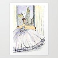 My View in New York City Art Print