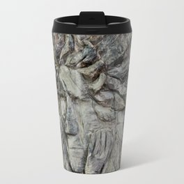 Thinking at the creek Travel Mug