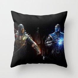 MK VS. Throw Pillow