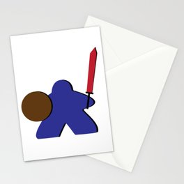 Meeple Warrior Stationery Cards