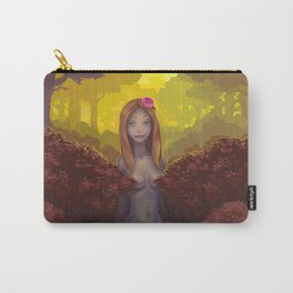 Red Hedge Carry-All Pouch