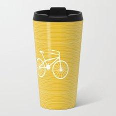Yellow Bike by Friztin Travel Mug
