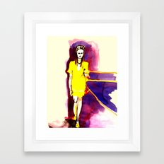 Models Ink Framed Art Print