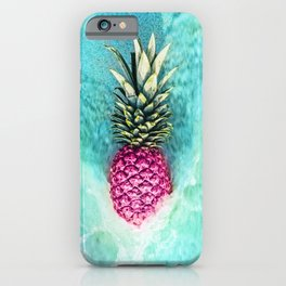 Pineapple Waves iPhone Case