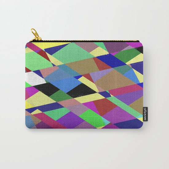 Pastel Geometry 2 Carry-All Pouch