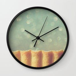 Pie Wall Clock