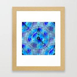 Time Puzzle Framed Art Print