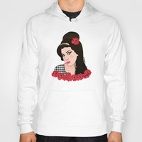 amy hamilton Hoodies featuring Amy  by Pendientera
