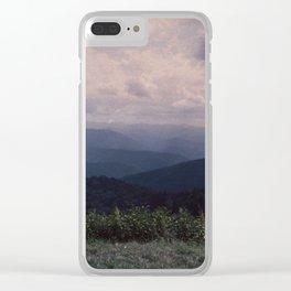 Appalachia Clear iPhone Case