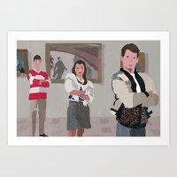 ferris bueller Art Prints featuring Ferris Bueller You're My Hero. by Lee_B