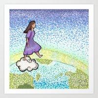 Take the Leap Art Print