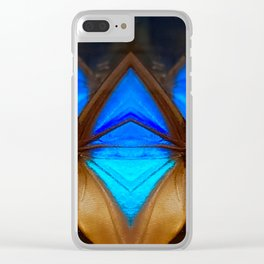 Butterfly Sentinels Clear iPhone Case